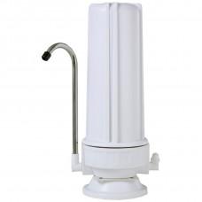 Συσκευή φίλτρου νερού DELUXE ανω του πάγκου καμπάνα λευκή