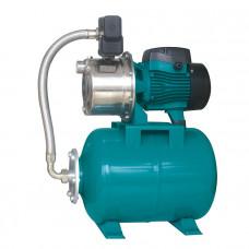 Πιεστικό Νερού LEPONO LEO GROUP INOX AJm75SA5 (1Hp) με Δοχείο 25lt Οριζόντιο