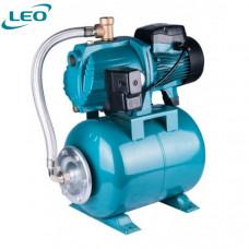 Πιεστικό νερού LEPONO LEO GROUP AJm75A3 (1Hp) με δοχείο 25lt οριζόντιο