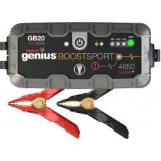NOCO Boost Sport Ultrasafe GB20 Εκκινητής Λιθίου Μπαταρίας (Power Bank) 12V 500A
