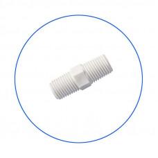Νίπελ πλαστικό σύνδεσης 1/4''