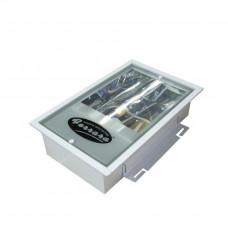 Φωτιστικό χωνευτό μικτού φωτισμού Ferrara  IP30 E40 105W 58x33 147-56310