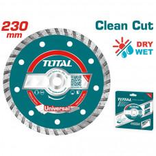 TOTAL TAC2132301 ΔΙΑΜΑΝΤΟΔΙΣΚΟΣ UNIVERSAL TURBO 230 Χ 22.2mm